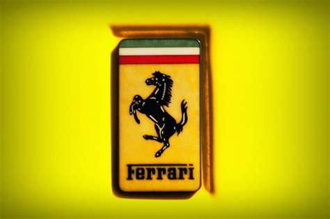 Ferrari Emblem by Ferrari Emblem Photograph By Bill Cannon