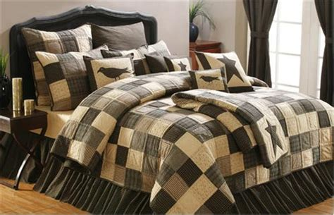 black and tan bedding kettle grove primitive black and tan bedding bath ebay