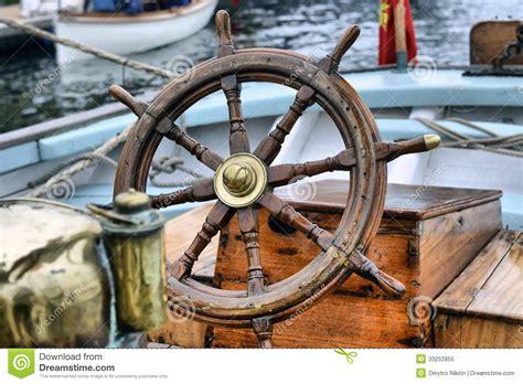 sailing boat steering wheel steering wheel sailboat royalty free stock photo image