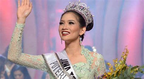 gaun putri indonesia seksinya putri indonesia 2015 dengan gaun transparan