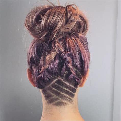hairstyle back design nape undercut nape undercuts pinterest coupe
