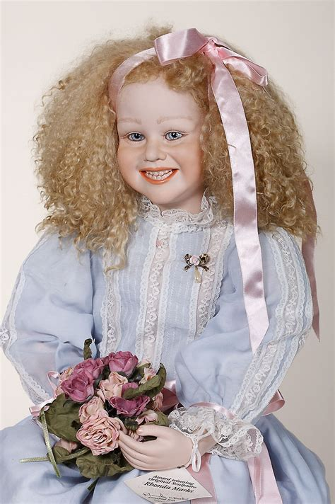 porcelain doll artists ella porcelain limited edition doll by rhonda marks