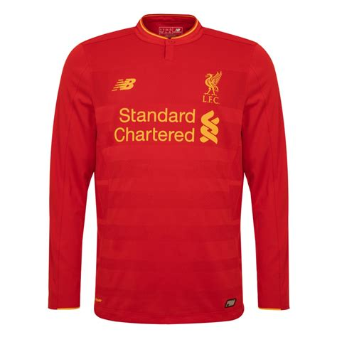 Shirts C 14 16 17 by Lfc Mens Sleeve Home Shirt 16 17 Liverpool Fc