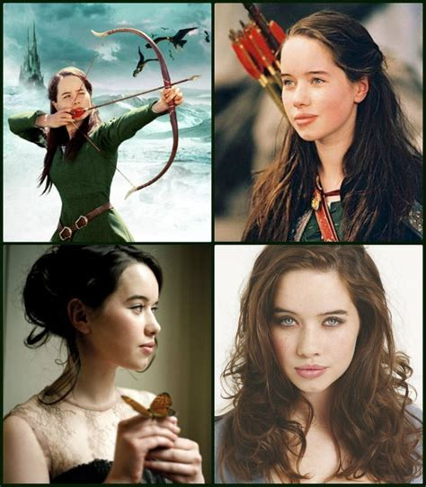 lucy and anna anna popplewell as susan pevensie the chronicles of