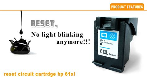 reset hp deskjet 1050 ink level circuit ink cartridge for hp 61xl chip reset show ink