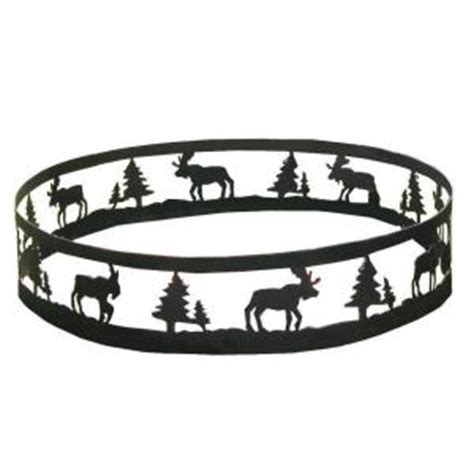 Steel Pit Ring Home Depot cobraco moose steel pit ring frmoos369 the home depot
