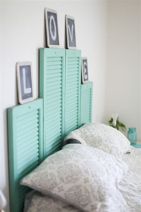 colored headboards 20 diy bedroom headboards that will leave you speechless