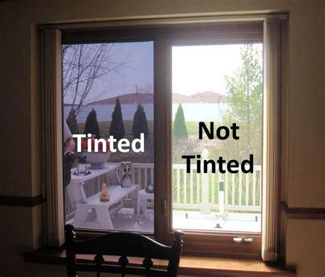 homes windows  tinted home