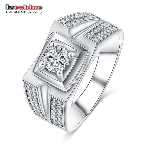 Wedding Ring Brand by Lzeshine 2016 New Designer S Wide Wedding Ring Brand