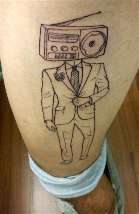 radio tattoos designs 25 best ideas about radiohead on quote