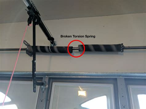 Upgrade From Two To Four Torsion Spring System One Clear Garage Door Broken Torsion