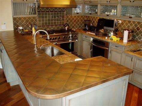 Copper Kitchen Countertops Copper Kitchen Island Top Quicua