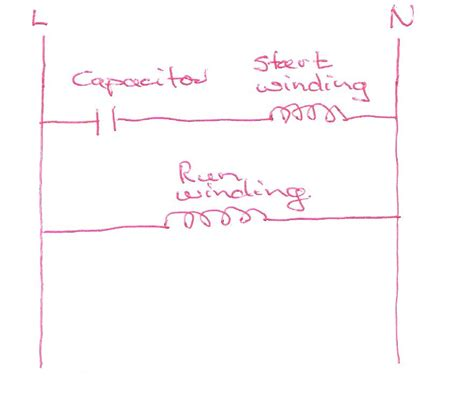 how do you if a run capacitor is bad single phase motor capacitor start sparkyhelp