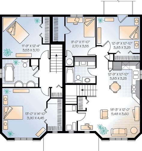 multi family plan 48066 at familyhomeplans com multi family plan 64954 at familyhomeplans com