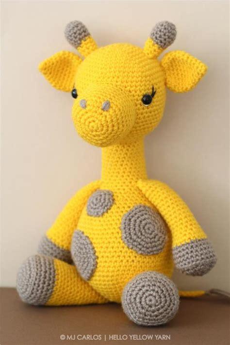 pattern for amigurumi giraffe crochet amigurumi giraffe pattern by helloyellowyarn craftsy