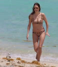 Patrick Ewing by Julie Gonzalo Parades Her Body In Tiny Two Piece