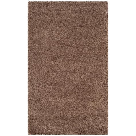 taupe shag rug safavieh santa shag taupe 3 ft x 5 ft area rug sgn725 2424 3 the home depot