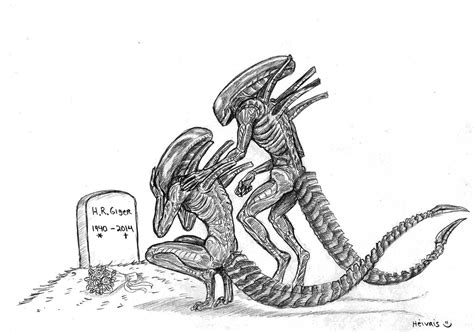 H R Giger Sketches by Rest In Peace H R Giger By Heivais On Deviantart