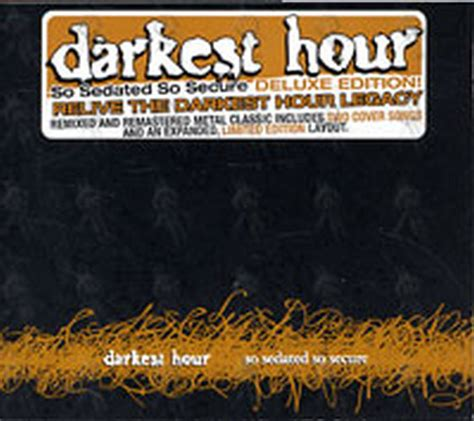 darkest hour discography darkest hour so sedated so secure album cd rare