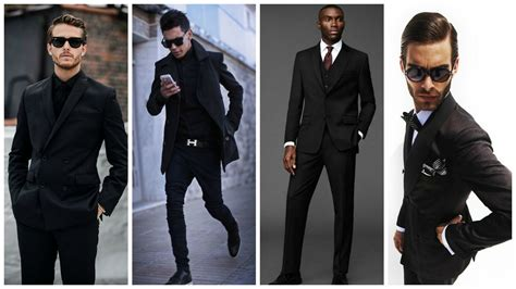 black man style guide men s style guide always in black