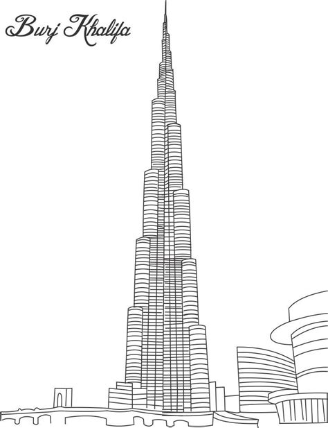 skyscraper coloring pages 8