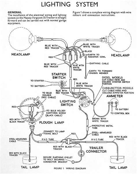 wiring diagram for ferguson t20 wiring get free image