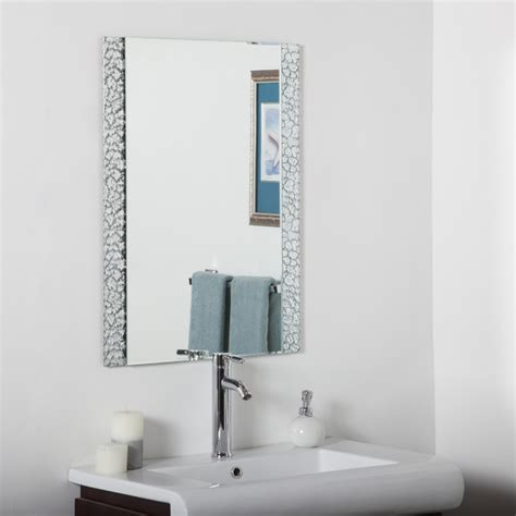 Contemporary Bathroom Mirror Vanity Bathroom Mirror Contemporary Bathroom Mirrors By Overstock