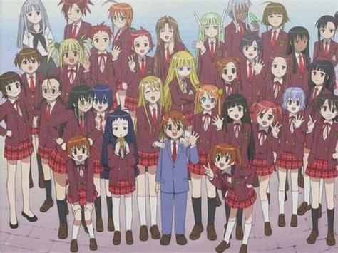 anime harem harem anime and main character pheromones tom s anime rant