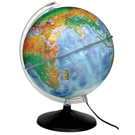 libreria globo globo terrestre libreria opaco f 237 sico ambiental 30 cm