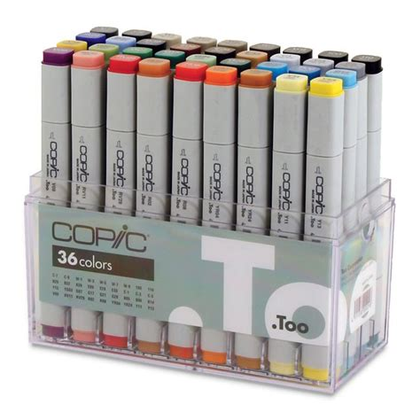 Copic Marker 36 By Polkapolca by Copic Original Marker Set 36 Basic Colors Cheap Joe S