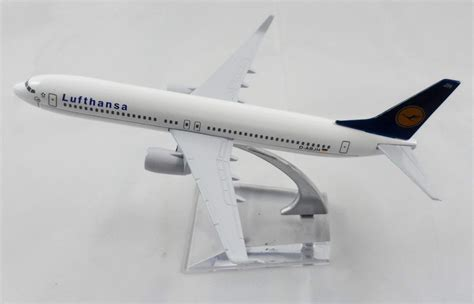 New 1 400 Metal Boeing B737 Lufthansa Plane Model Airplane Aircraf 16cm lufthansa air airlines boeing 737 metal desk display aircraft plane model ebay
