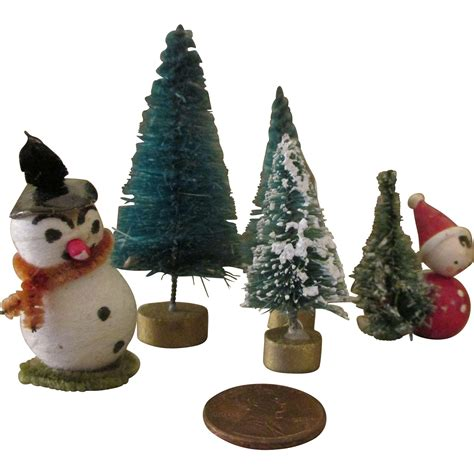 miniature doll house christmas decorations from