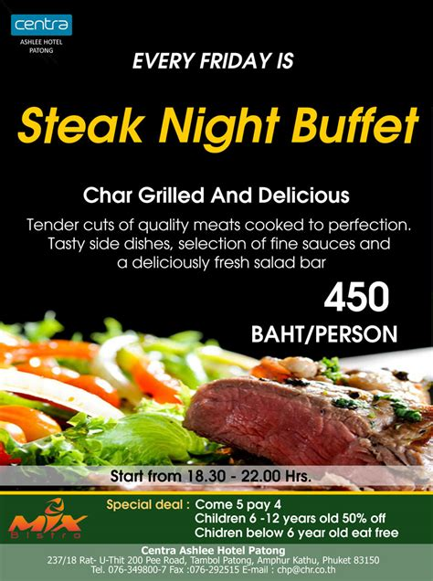 Steak Night Buffet Steakhouse Buffet