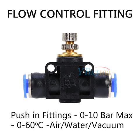 Tp S Wangky Size 3 32 size pneumatic push in fittings air valve water hose pipe connector joiner tp ebay
