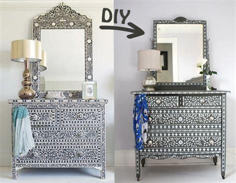 Ideas For Bone Inlay Furniture Design Diy Inlaid Bone Dresser Wear Wag Repeat