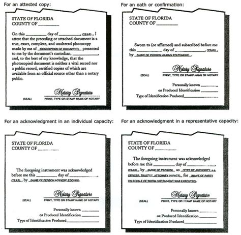 apostille requirements for a notarized document florida