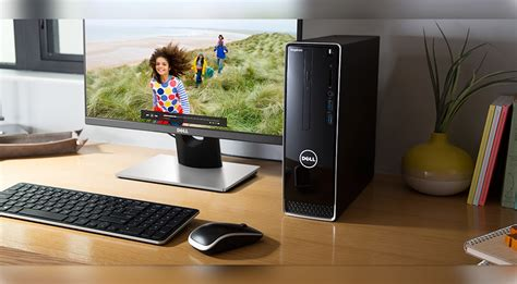 Et Deals Dell Inspiron Small 3000 Desktop Pc For 429 Small Desk Top