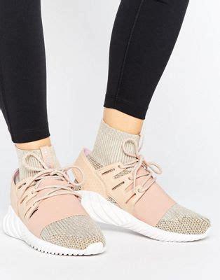 adidas originals adidas originals pink tubular doom trainers