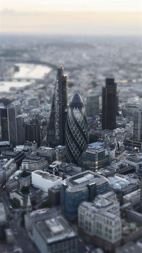 london aerial miniature view iphone  wallpaper hd   iphonewalls