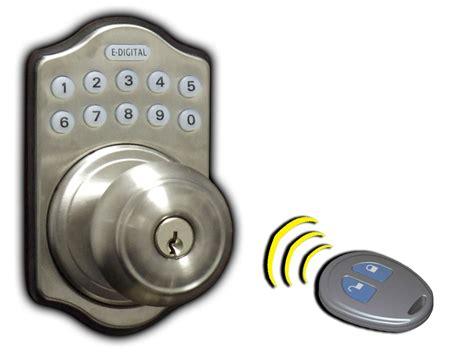 Remote Front Door Lock Lockey E Digital Remote Key Fob Keyless Entry Locks Keypad Pushbutton Combination