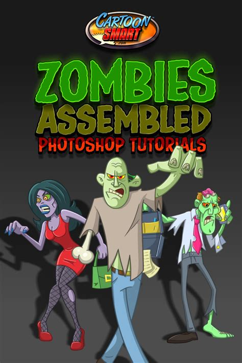 tutorial illustrator zombie how to draw zombies in photoshop tutorial index