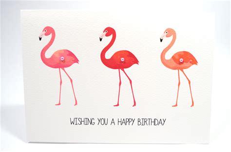 Happy Birthday Pink Flamingo Beautiful Happy Birthday Card Flamingos Pink Hbf127