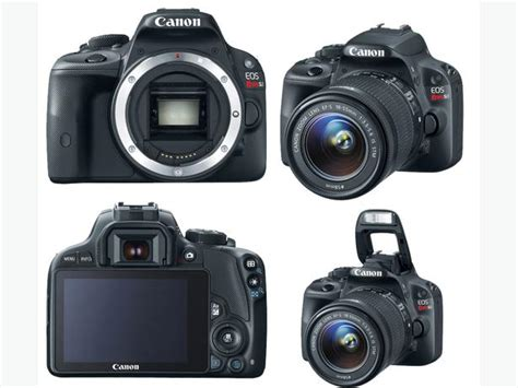 Kamera Dslr Canon Touchscreen like new canon sl1 touch screen dslr w 18 55mm lens central nanaimo parksville