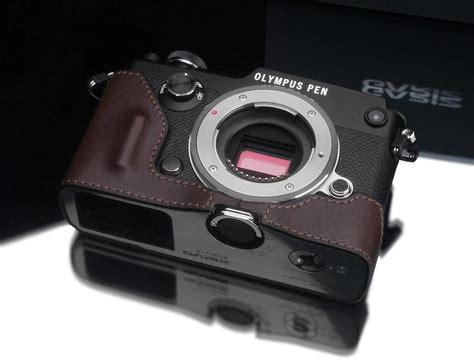 olympus cases olympus pen f leather cases announced by gariz