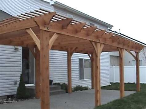 ready made pergola kits get affordable custom pergola