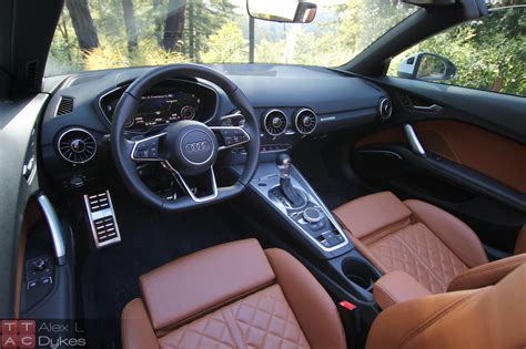 Audi Tt Interior by 2016 Audi Tt Roadster Review Not Just A Pretty Face