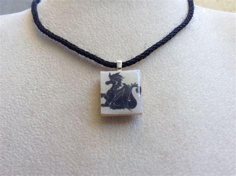 scrabble tile jewellery scrabble tile pendant necklace dragons 183 knotjustknots