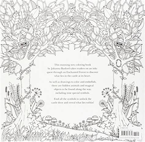 secret garden coloring book new york times enchanted forest an inky quest coloring book buy