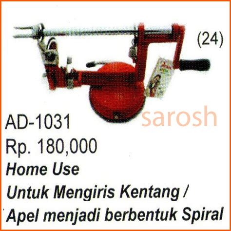 Kentang Slicer jual alat pembuat kentang spiral spiral potato slicer