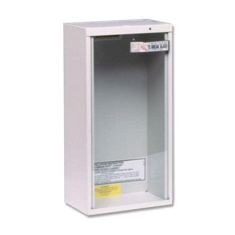 kidde surface mount extinguisher cabinet for 5 lbs